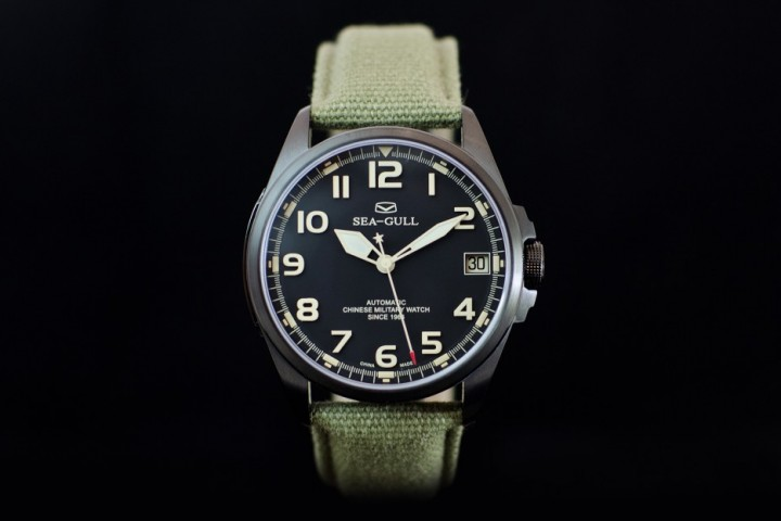 Seagull Military pvd Black
